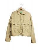 WESTOVERALLS(ウエストオーバーオールズ)の古着「カツラギジャケット」|ベージュ
