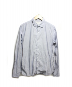 YAECA(ヤエカ)の古着「スナップコンフォートシャツ」|ブルー