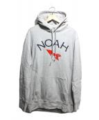 Noah(ノア)の古着「ANTI-NAZI HOODIE」|グレー
