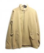 POLO RALPH LAUREN()の古着「ウールジップアップジャケット」 ベージュ
