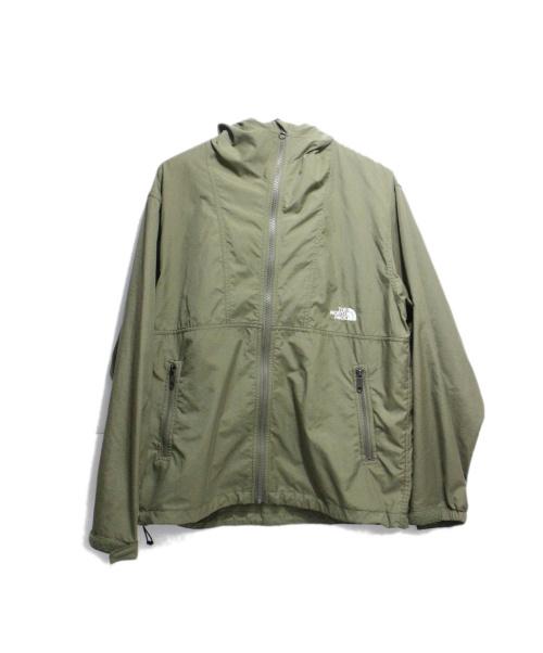 THE NORTH FACE(ザノースフェイス)THE NORTH FACE (ザノースフェイス) コンパクトジャケット グリーン サイズ:Sの古着・服飾アイテム