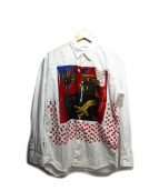 COMME des GARCONS SHIRT(コムデギャルソンシャツ)の古着「basquiat shirt」|ホワイト