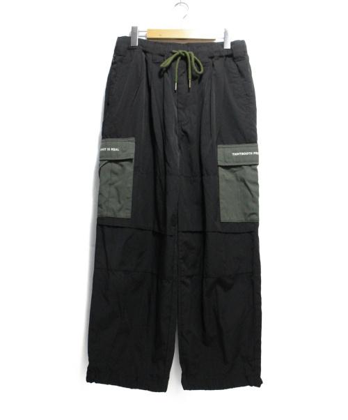 TBPR(タイトブースプロダクション)TBPR (タイトブースプロダクション) BAGGY CARGO PANTS ブラック サイズ:Mの古着・服飾アイテム