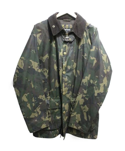 Barbour(バブアー)Barbour (バブアー) Bedale SL CAMO Wax グリーン×ブラウン サイズ:Lの古着・服飾アイテム