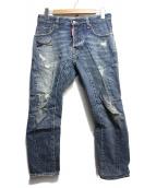 DSQUARED2(ディースクエアード)の古着「デニムパンツ」|ブルー