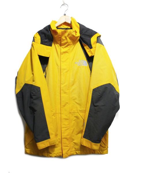 THE NORTH FACE(ザノースフェイス)THE NORTH FACE (ザノースフェイス) マウンテンガイドジャケット イエロー サイズ:L GORE-TEXの古着・服飾アイテム