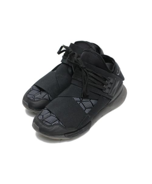 Y-3(ワイスリー)Y-3 (ワイスリー) QASA HIGH ブラック サイズ:26.5cmの古着・服飾アイテム