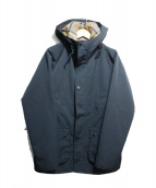 Barbour(バブアー)の古着「HOODED BEDALE SL 2LAYER」|ネイビー
