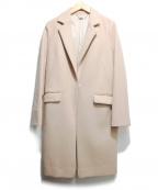 VICKY(ビッキー)の古着「スーパーウールチェスターコート」 ピンク