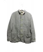 MR.GENTLEMAN(ミスタージェントルマン)の古着「ウールジャケット」 グレー