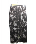 PLEATS PLEASE(プリーツプリーズ)の古着「プリーツスカート」|ブラック