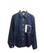 toughness(タフネス)の古着「デニムシャツ」|ブルー
