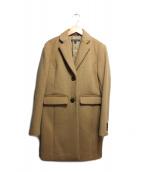 BROOKS BROTHERS(ブルックスブラザーズ)の古着「メルトンチェスターコート」|キャメル