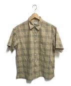 STEVEN ALAN(スティーブンアラン)の古着「BROAD CHECK BOX REG BOLD SHIRT」|ブラウン