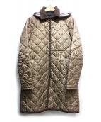 LAVENHAM(ラベンハム)の古着「キルティングコート」 ブラウン