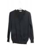 DIOR(ディオール)の古着「Bee刺繍Vネックカーディガン」|ブラック