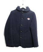 DANTON(ダントン)の古着「ウールモッサジャケット」|ネイビー