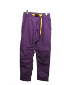 GRAMICCI(グラミチ)の古着「別注コンバーチブルパンツ」|パープル