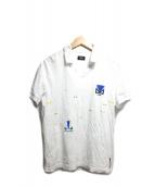 FENDI(フェンディ)の古着「バグズプリントポロシャツ」|ホワイト