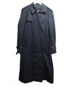 Burberrys(バーバリーズ)の古着「ライナー付トレンチコート」|ネイビー