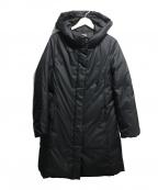 MICHEL KLEIN(ミッシェルクラン)の古着「アップサイクルダウンコート」|ブラック