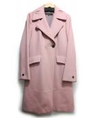 Reflect(リフレクト)の古着「チェスターコート」 ピンク