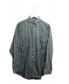 Christian Dior(クリスチャンディオール)の古着「ストライプシャツ」 グレー