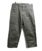 TUKI(ツキ)の古着「0082ワークパンツ」|グリーン