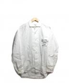 PEEL&LIFT(ピールアンドリフト)の古着「アナーキーシャツ」 ホワイト