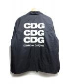 COMME des GARCONS(コムデギャルソン)の古着「エアラインロゴコーチジャケット」 ネイビー