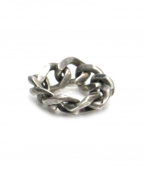 syte(サイト)の古着「Brass Curved Chain Ring」