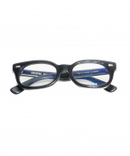 EFFECTOR(エフェクター)の古着「伊達眼鏡」 ブラック