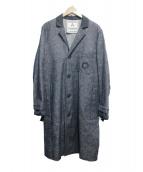 ANDREA POMPILIO(アンドレアポンピリオ)の古着「デニムチェスターコート」|インディゴ