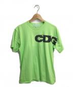 CDG(シーディージー)の古着「ロゴプリントtシャツ」 グリーン