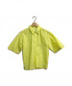 CMMN SWDN(コモン スウェーデン)の古着「イエローライムS/Sシャツ」|イエロー