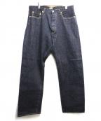 PHIGVEL MAKERS(フィグベルマーカーズ)の古着「DENIM PANTS GENUINE」|インディゴ
