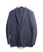 CoSTUME NATIONAL HOMME(コスチューム ナショナルオム)の古着「ウォッシャブルジャージージャケット」|ネイビー