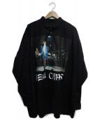 KIDILL(キディル)の古着「NEW CHAOS SHIRTS」|ブラック