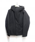 ROSSO(ロッソ)の古着「丸井織物ハイブリッドフードダウン」 ブラック