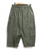 GOLD()の古着「WIDE POCKET BALLOON PANTS」|グリーン