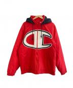 SUPREME×Champion(シュプリーム×チャンピオン)の古着「Puffy jacket」|レッド