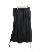 M.F.K(エムエフケー)の古着「tuck balloon pants」 ブラック