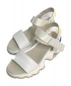 SOREL(ソレル)の古着「キネティックサンダル」|ホワイト