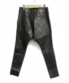 kiryuyrik(キリュウキリュウ)の古着「SaruelBondage」|ブラック
