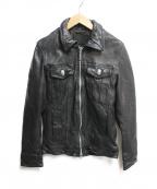 JACKROSE(ジャックローズ)の古着「ライダースジャケット」 ブラック