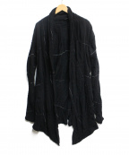 kiryuyrik(キリュウキリュウ)の古着「トッパーカーディガン」|ブラック