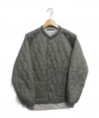 OLD JOE & Co.(オールドアンドジョー)の古着「QUILTED HUNTING LINER SHIRTS」|グレー
