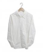 lownn(ローン)の古着「ワイドL/Sコットンシャツ」|ホワイト