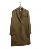 BURBERRY()の古着「カシミヤ混チェスターコート」|ベージュ