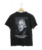 sacai(サカイ)の古着「Einstein T-Shirt」|ブラック